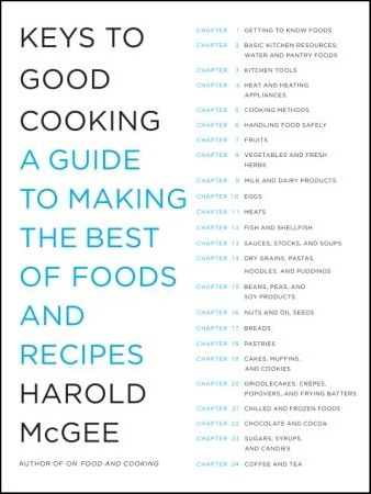 the keys to good cooking
